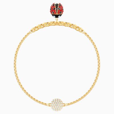 swarovski-remix-collection-ladybug-strand--multi-colored--gold-tone-plated-swarovski-5479018
